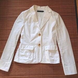 春夏物 Ralph Lauren ホワイト テーラード  サマージャケット