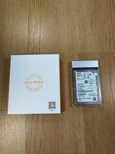 【B791】送料無料 HDD 500GB SATA 2.5インチ 5400rpm 9.5mm USB3.0 ( HGST HTS541050A9E680 ELUTENG透明ケース 空と鈴 )