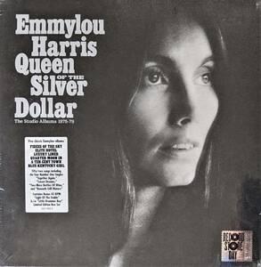 "Emmylou Harris エミルー・ハリス - Queen Of The Silver Dollar:The Studio Albums 1975-79 7""シングル付限定五枚組アナログ・レコード"