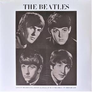 The Beatles ザ・ビートルズ - Live In Melbourne, Festival Hall June 17th 1964 - TV Broadcast 500枚限定再発アナログ・レコード