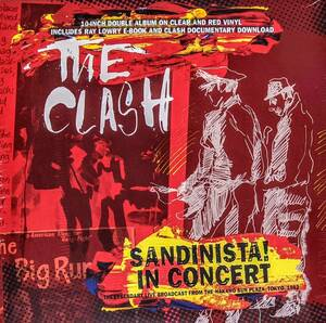 The Clash - .Sandinista! In Concert - Live Broadcast From The Nakano Sun Plaza Tokyo 1982 限定10インチ二枚組アナログ・レコード