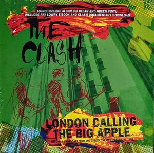 The Clash - London Calling The Big Apple - Broadcast From The Capitol Theatre Passaic NJ 1980 限定10インチ二枚組アナログ・レコード