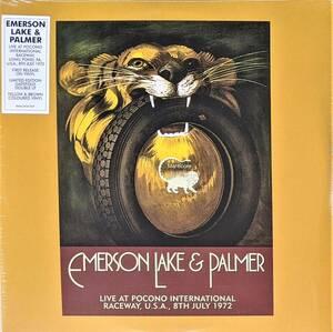 Emerson, Lake & Palmer - Live At Pocono International Raceway, U.S.A., 8th July 1972 2,000枚限定リマスター二枚組アナログ・レコード