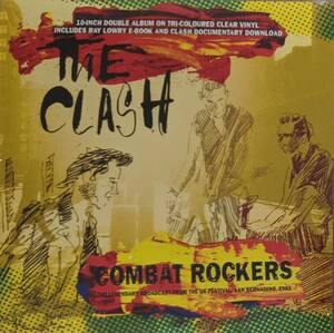 The Clash - Combat Rockers - The Legendary Broadcast From The US Festival San Bernadino 1983 限定10インチ二枚組アナログ・レコード