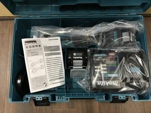 008●未使用品・即決価格●マキタ 100mm充電式ディスクグラインダ GA001GRDX