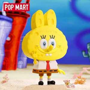 POP MART ポップマート Sponge Bob × THE MONSTERS コラボ 限定 フィギュア BIG スポンジ・ボブ LABUBU 龍家昇 Kasing Lung 新品未開封