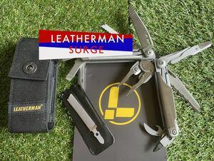 LEATHERMAN SURGE 未使用品 箱付き レザーマン マルチツール サバイバルツール マルチプライヤー