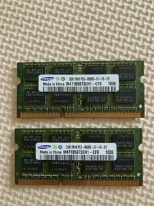 [0427] Note PC for memory SAMSUNG 2GB 2Rx8 PC3-8500S-07-10-F2 M471B5673EH1-CF8 1006 total 2 sheets