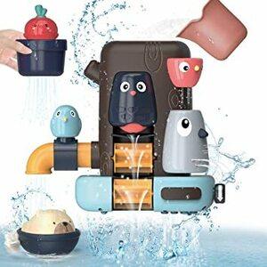 REMOKING 2021新型 お風呂 おもちゃ 水遊び おもちゃ 女の子 男の子 キッズ かわいい動物 水スプレー 遊びいっぱ