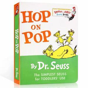 Dr.Seussドクタースースシリーズ hop on pop 英語絵本