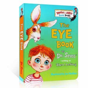 DrSeuss(ドクタースース) The eye book 英語絵本