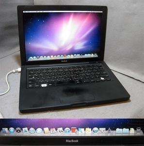 m479 macbook(黒) A1181 2.0Ghz 2.0G 80G os10.6.8 難あり