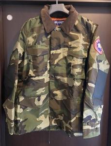 美品 XSサイズ COMME des GARCONS JUNYA WATANABE MAN × CANADA GOOSE WC-J403 actical Jacket ジャケット カモ 迷彩 コムデギャルソン