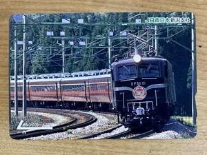 75EF オレンジカード 使用済 EF58-61 JRC-TK 30周年記念 1000円券 JR東日本 新潟支社