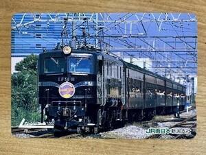 75EF オレンジカード 使用済 EF58-61 鉄道開業125周年記念 レトロ横浜号 1000円券 JR東日本 新潟支社