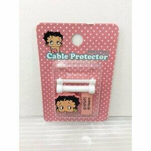 ベティーちゃん Betty Boop BETTY-PINKベティブープ/USBケーブルプロテクター/携帯 USBアクセサリー