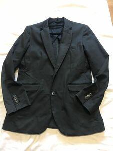 無印良品 メンズ ジャケット 2つボタン テーラードジャケット M