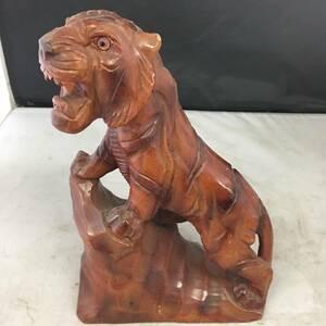 置物 虎 木彫り トラ