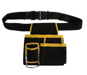 X2408 腰袋2 ウエストッバッグ 工具袋 道具ポーチ 腰道具