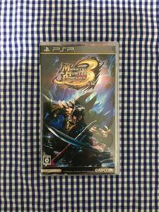 「モンスターハンターポータブル 3rd PSP」カプコン