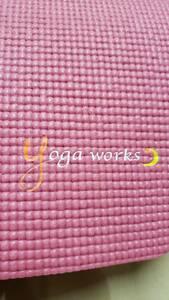 ヨガマット ヨガワークス 6ミリ yoga works 中古