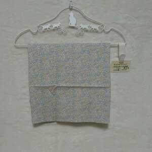 格安C&Sチェック&ストライプ パステルカラーのお花柄イエロー110cm幅×150cm 綿100% リバティハンドメイドcheck&stripeハグボンポワン