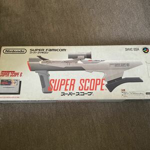 ジャンク品 スーパースコープ  スーパーファミコン Nintendo  任天堂
