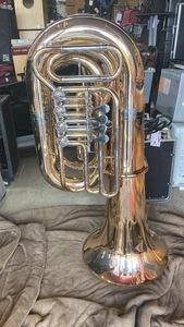 u45996 中古  チューバ YAMAHA ( ヤマハ ) YBB-645G 4ロータリー B♭管