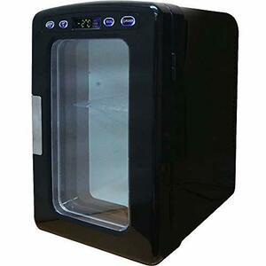 UP STORE ポータブル 冷温庫 小型冷蔵庫 10L 氷点下-2~60℃まで設定可能 保温 保冷 家庭用ACコード 車載用DCコード (ブラック)