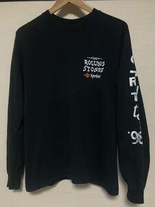 ROLLING STONES/ローリングストーンズ/97年/ツアーT/Tシャツ/SMALL/コットン ロンT 長袖Tシャツ