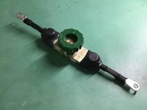 ニュータイプ 仕様変更! バイク バッテリーカット スイッチ ターミナル ケーブル付き 整備用