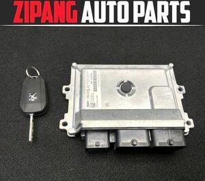 PU002 A9 Peugeot 208 HM01 engine computer -/ key key attaching *9811545280 * operation OK/ error less * * prompt decision