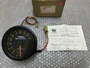 * new goods out of print goods * TRD tachometer 11500rpm tachometer 83270-SP022 DENSO DENSO 108Φ AE86 AA63 KP61 TE37 TE27 TE71 TA22 TA27