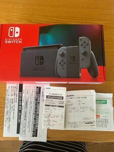 Nintendo Switch新品未使用 保証一年付き グレー