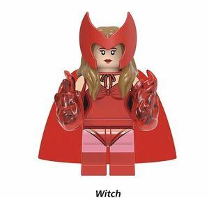 1体 マーベル ワンダヴィジョン アベンジャーズ ミニフィグ LEGO 互換 ブロック ミニフィギュア レゴ 互換 q