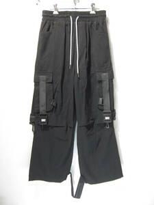 未使用 BLACKTAILOR C14 CARGO PANTS ブラックテーラー 34 カーゴパンツ ストリート オフホワイト