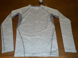 【新品タグ付】UNDER ARMOUR アンダーアーマー コンプレッションシャツ 長袖 MCM2549 メンズ SM ホワイト系