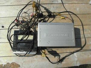 長期保管 ジャンク パイオニア NEH-P9000 AVメインユニット CDX-P1250 PIONEER 12連奏CD CDチェンジャー CDデッキ MDデッキ