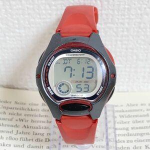 ★CASIO ILLUMINATOR デジアナ 多機能 メンズ 腕時計 ★カシオ イルミネーター LW-200 アラーム クロノ 稼動品 F4329
