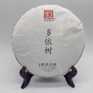哈尼古茶 雲南省 プーアル 「多依樹」生茶 古樹茶 2015