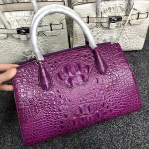 クロコダイル ワニ革本物レザー 本革 鞄 トート レディース 肩掛け 手提げ ハンドバッグ 品質保証 ピンク 可愛い