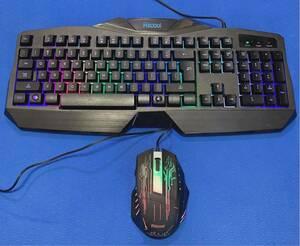 Riicool USBキーボード&USBマウス 2点セット
