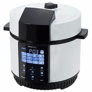CCP 電気圧力鍋 1.8L ホワイト BD-PC71-WH BONABONA 圧力鍋