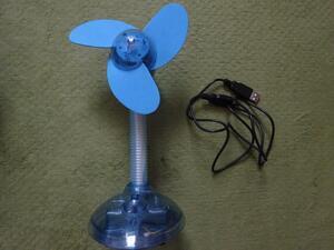 パソコン PC 周辺機器 USB扇風機 デスクファン 新品未使用品