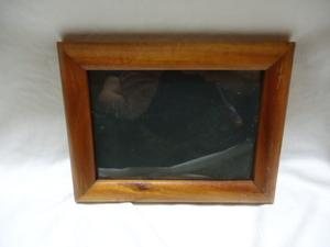 即決 ハワイ コアウッド ヴィンテージ フォトフレーム 写真立て 額 17×22 ② 木製