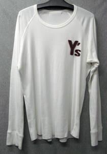 ワイズ フォーメン ヨウジヤマモト:ロゴ ロンT 3 ( Tシャツ 長袖Tシャツ Y's for MEN Yohji Yamamoto Vintage Long Sleeve Tee 3