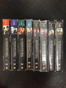 SUPERNATURAL DVD シーズン1からシーズン8