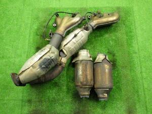 素材用 パイプカット品 クラウン JZS175 2JZFSE 触媒 コンバーター ショクバイ キャタライザー Catalyzer 1台分(4個セット)