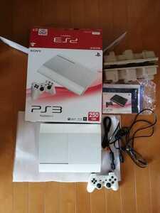 美品 日焼け無 PS3本体 PlayStation3 PS3 ホワイト CECH-4200B LW プレイステーション3 SONY 動作確認済 最新アップデート済