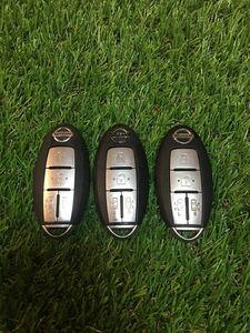 日産 純正 スマートキー 4ボタン セレナ C25エルグランド E51 両側スライドドア インテリジェントキー